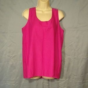 Faded Glory Tops - Sleeveless Summer tops lot of 2 sz large